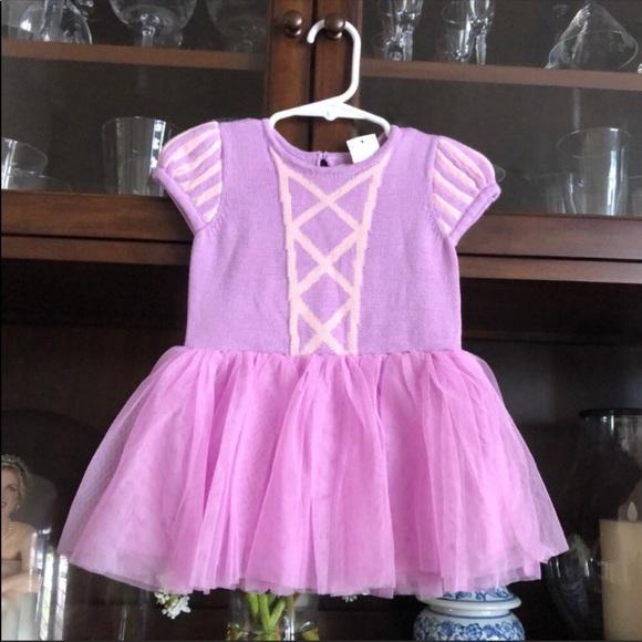 Baby Gap Rapunzel Dress 6-12M Tangled Princess NWT
